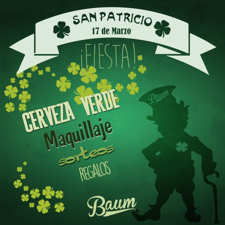 ¡SE VIENE SAN PATRICIO!